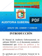 Auditoria Gubernamental-mercantiles 2009