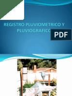Registro Pluviometrico y Pluviografico