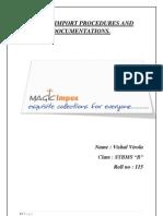 Export Import Magic Impex