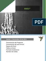 Excel-Sesión 1