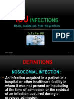 , Infection Control in ICU's