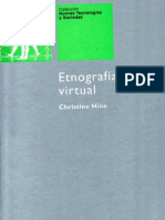 Hine, Christine - Etnografia Virtual Uoc