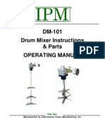 Drum Mixer Inst Manual Revised 5-4-09