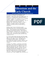 The Millennium and the Early Church, By David m