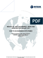 8 - Mexico Oil & Gas Market August, 2011