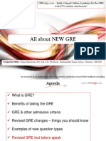 All About NEW GRE