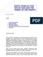 A Patristic Study of the Kingdom of God and the Development of the Trinity