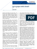 EMC - Getting to grips with cloud?