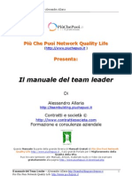 Il Manuale Del Team Leader