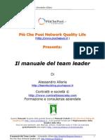 Il Manuale Del Team Leader