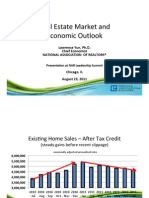 Real Estate Market and Economic Outlook