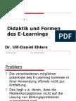 E Learning Didaktik