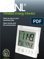 Wireless Energy Monitor - User Guide