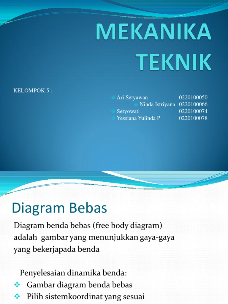 Diagram benda bebas ccuart Images