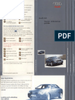 Audi A4 Quick Reference Guide