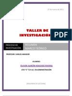 Marco Teorico de Investigacion