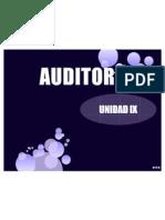 Unidad 9 Auditoria