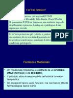 Farmacologia introduzione