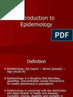 epidemology