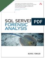 SQL Server Forensic Analysis Chapter SQL Server Forensic