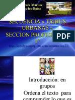 SECUENCIA TRIBUS 1° SEP