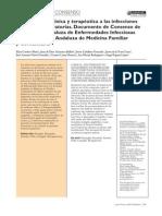 Aproximación clínica y terapéutica a las infecciones vias resp Andalucia
