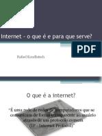 Internet – o que ela mudou em nossas