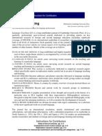 Journal of Lg Teaching