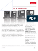 9600 Series Ip Desk Phones - Brochure