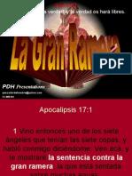 Apocalipsis La Gran Ramera