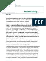 #ecbi11 Pressemitteilung EduCamp - Uni Bielefeld