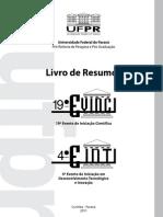 Evinci - Einti - UFPR
