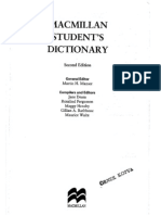 Students Dictionary