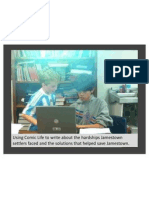 Fifth Grade Jamestown RAFT Projects