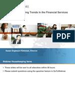 Financial Services Webinar - Feb 2011