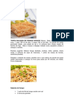 Torta Salgada de Frango Assado