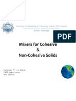 Mixers for Cohesive