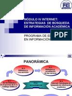 Modulo IV Academicos Internet