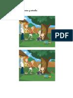 Actividades Procesos Cognitivos Phineas y Ferb,