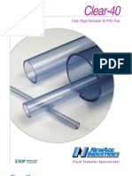 Clear-40 PVC Pipe