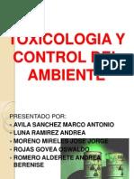 Toxicologia y Control Del Ambiente