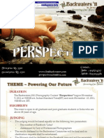 Perspectives Concept Document