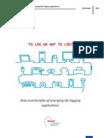 Life-Logging Risk Assessment_Final Report_10!11!2011