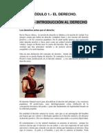 Tema 1 Introduccion Al Derecho
