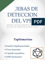 Pruebas de Deteccion Del Vph