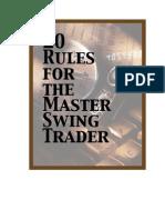 Alan Farley- Swing Trading 20 Rules
