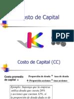 (Form.)Costo de Capital