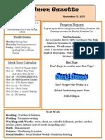11 11 Newsletter