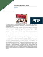 Fujimori y la esterilización de campesinas en