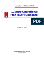 The President's Emergency Plan for AIDS Relief (PEPFAR) Country Operational Plan (COP) Guidance 2012
